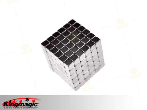 4mm*216 White Buckycubes Magnetic Blocks Cubes