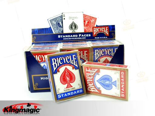 Bicycle marked cards on back - (BLUE)