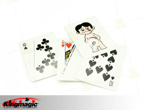 Card To Funny Boy Magic Trick